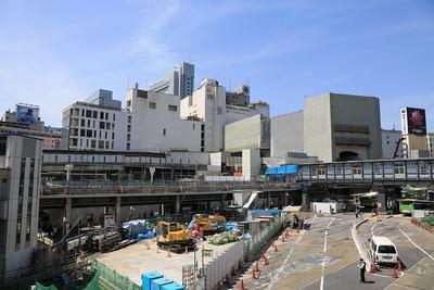 渋谷駅地区駅街区開発計画