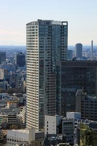 赤プリから見たパークコート赤坂 ザ タワー