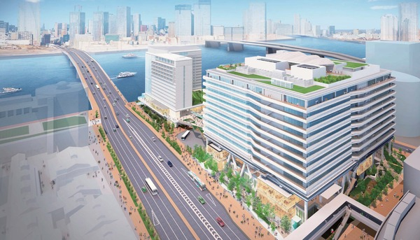 (仮称)豊洲六丁目4-2,3街区プロジェクト 全体区画完成予想CG