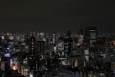 世界貿易センタービルから田町・三田方面の夜景