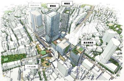 渋谷駅地区 駅街区