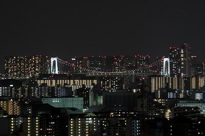 ピンクリボンと東京夜景