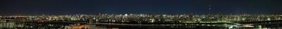船堀からパノラマ東京 夜景