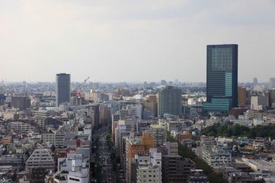 中目黒アトラスタワーから青葉台・大橋方面