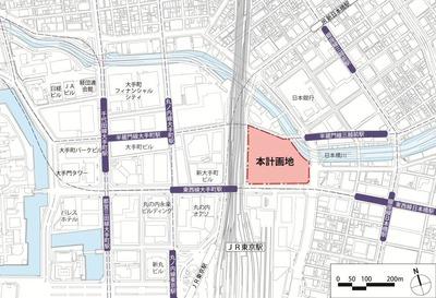 東京駅前常盤橋プロジェクト 案内図