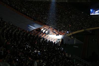 国立競技場ファイナル 蛍の光