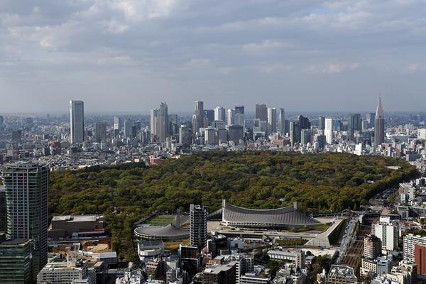 新宿の超高層ビル群