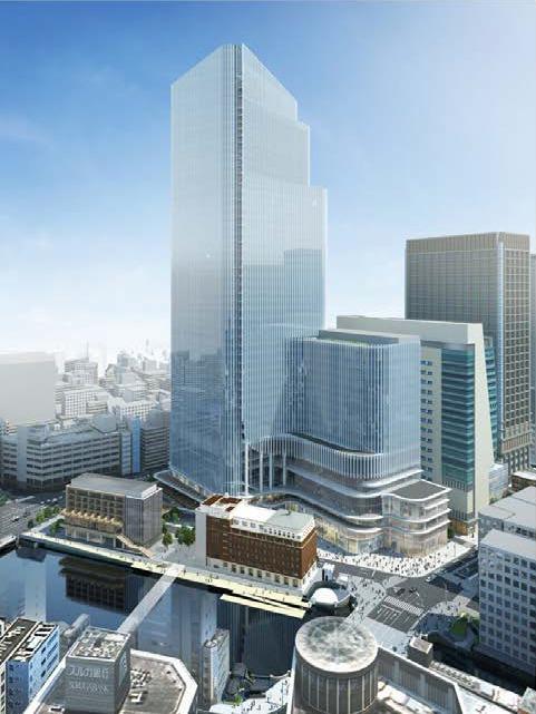 日本橋一丁目中地区第一種市街地再開発事業 イメージパース