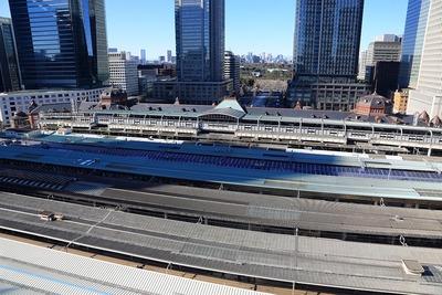 大丸東京店から見た東京駅