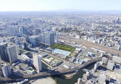 (仮称)芝浦水再生センター再構築に伴う上部利用事業