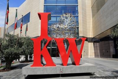 アル・ハムラ・タワーのI LOVE Kuwait