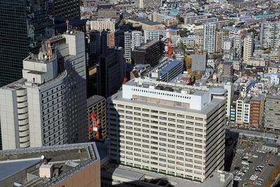 都庁から西新宿の眺め