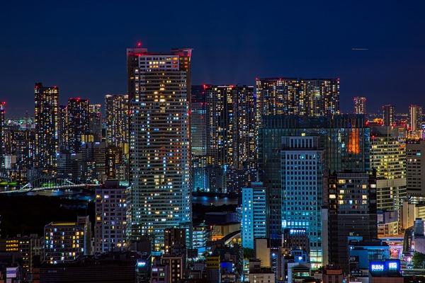 東京タワーからの夜景