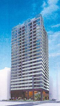 (仮称)横浜南幸地区共同建替事業 住宅棟イメージパース
