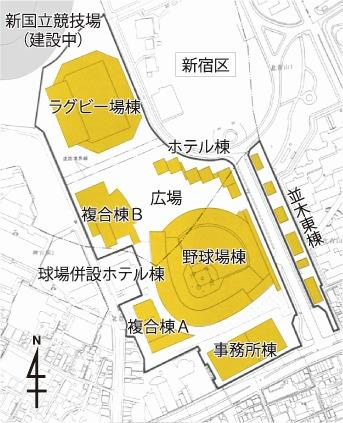 (仮称)神宮外苑地区市街地再開発事業