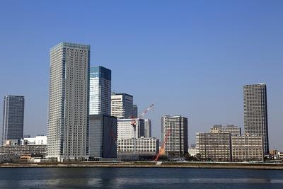 ザ・パークハウス晴海タワーズと(仮称)中央区晴海二丁目計画
