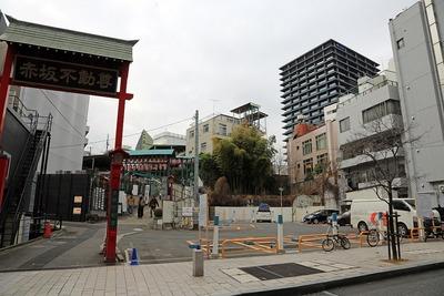 赤坂のドン・キホーテ建設地