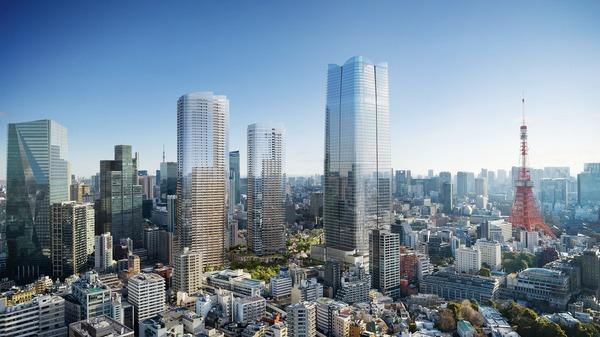 虎ノ門・麻布台プロジェクト 完成イメージ