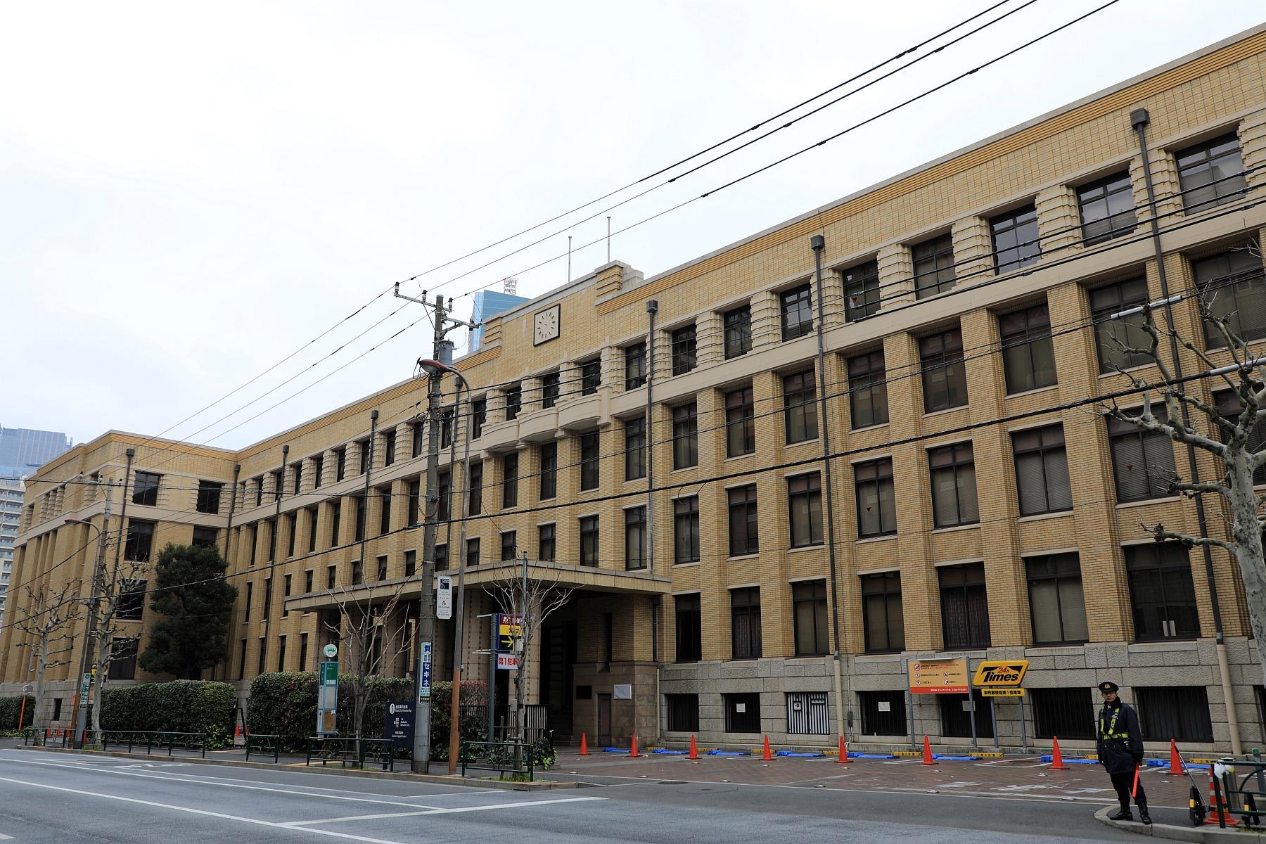 麻布郵便局は2月18日から解体!...