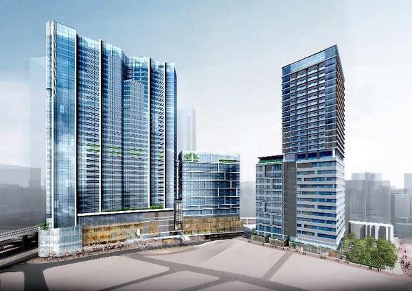 (仮称)渋谷駅桜丘口地区第一種再開発事業 イメージパース
