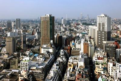 住友不動産 西新宿ビルから北側の眺め