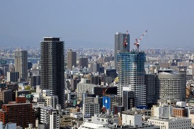 大阪駅前第3ビルからの眺め