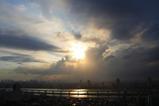 嵐東京通過後