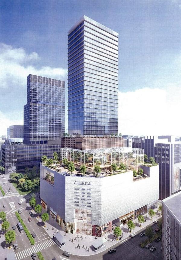 名古屋三越のビル建て替え