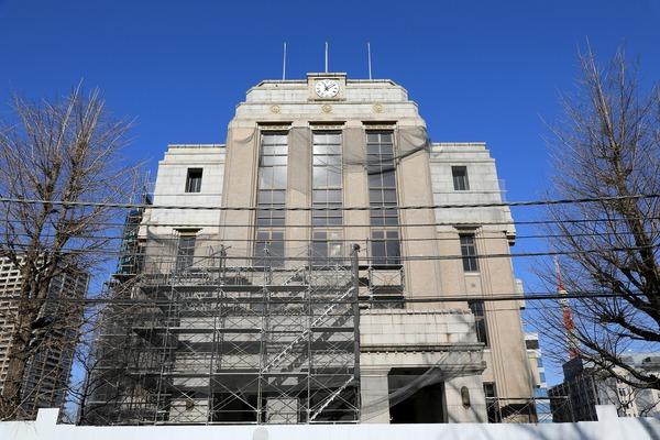 旧東京簡易保険支局(かんぽ生命保険東京サービスセンター)