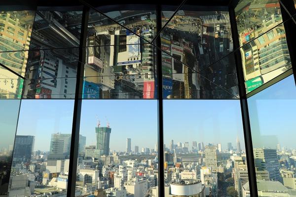 渋谷スカイのチケットカウンターフロア