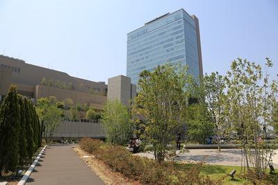 グランフロント大阪 南館タワーAのテラスガーデン