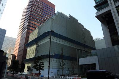 新公庫ビルの解体工事(大手町地区(B-2街区))