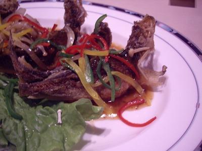 中国料理紅花樓料理2アップ