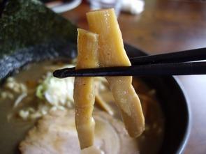 拉麺二段メンマ
