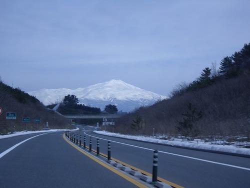 鳥海山高速より