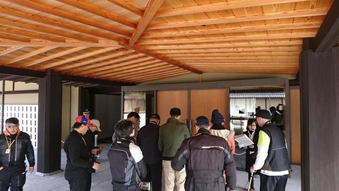 京都迎賓館ガイドツアー