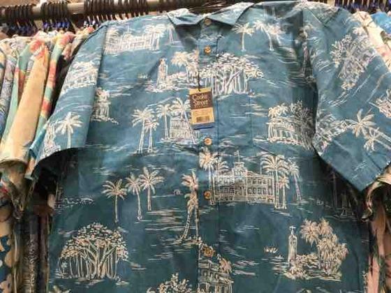 コスコのアロハシャツ