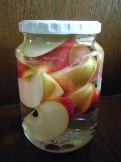 りんご酵母1日目