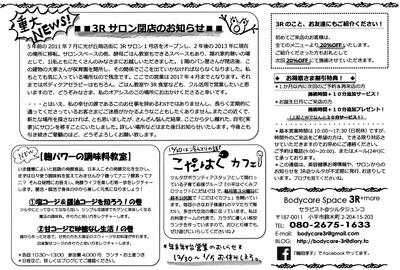 スリーアール通信18 (3)