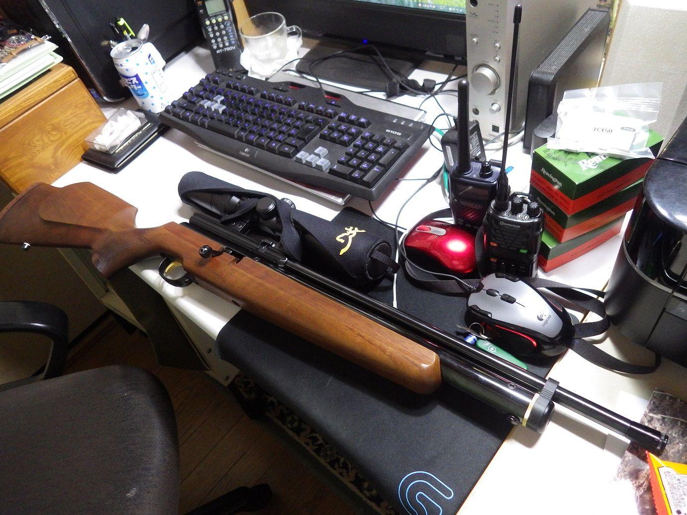 IMGP3550 burogu 空気銃オーバーホール完了 : 狩猟の部屋 狩猟の部屋 猟銃による
