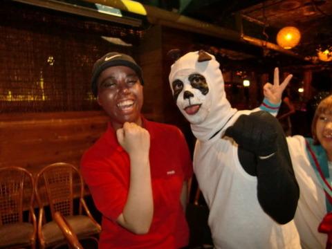 パンダとタイガー