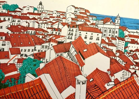 リスボンの屋根
