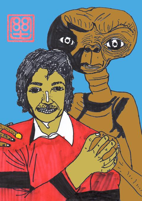 ETとマイケル 3