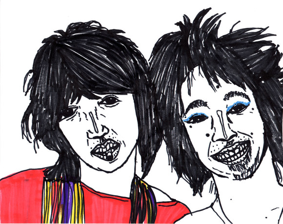 清志郎とチャボ