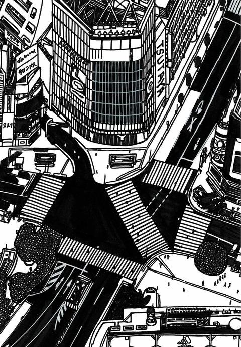 緊急事態宣言の渋谷