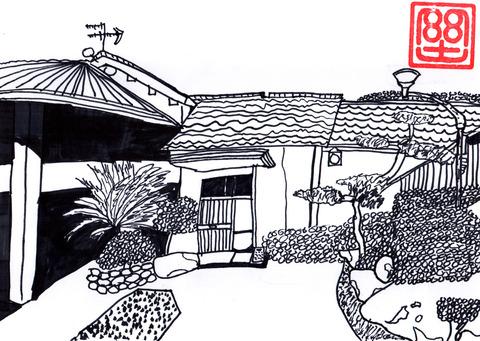 熊本のじいちゃん家