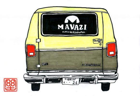 MAVAZI社用車