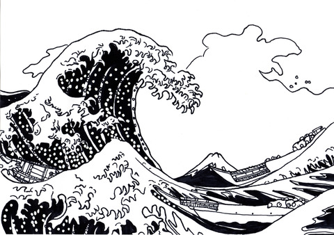 波 のコピー