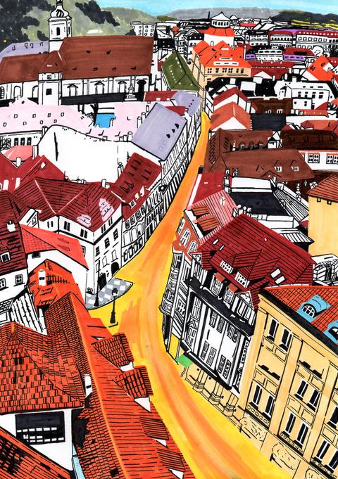 ポルトガルの街