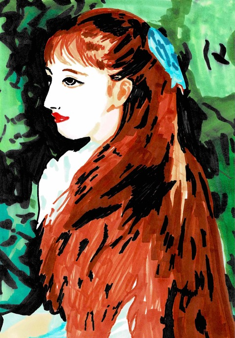 ルノワール「イレーヌ肖像」